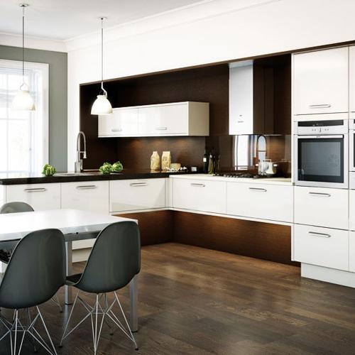 10 mẫu thiết kế nhà bếp đẹp lung linh hĩnh chữ L