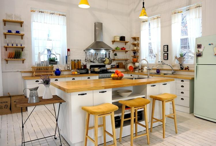 5 xu hướng thiết kế phòng bếp chung cư đẹp