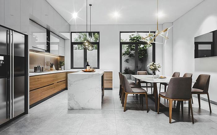 Xu hướng nội thất nhà phố đẹp năm 2019