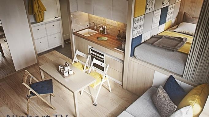 Những căn hộ siêu nhỏ, cực chất nhìn mê liền nhờ thiết kế thông minh