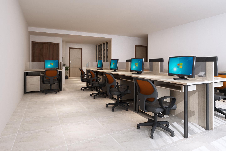 Thi Công nội thất văn phòng Hóc Môn