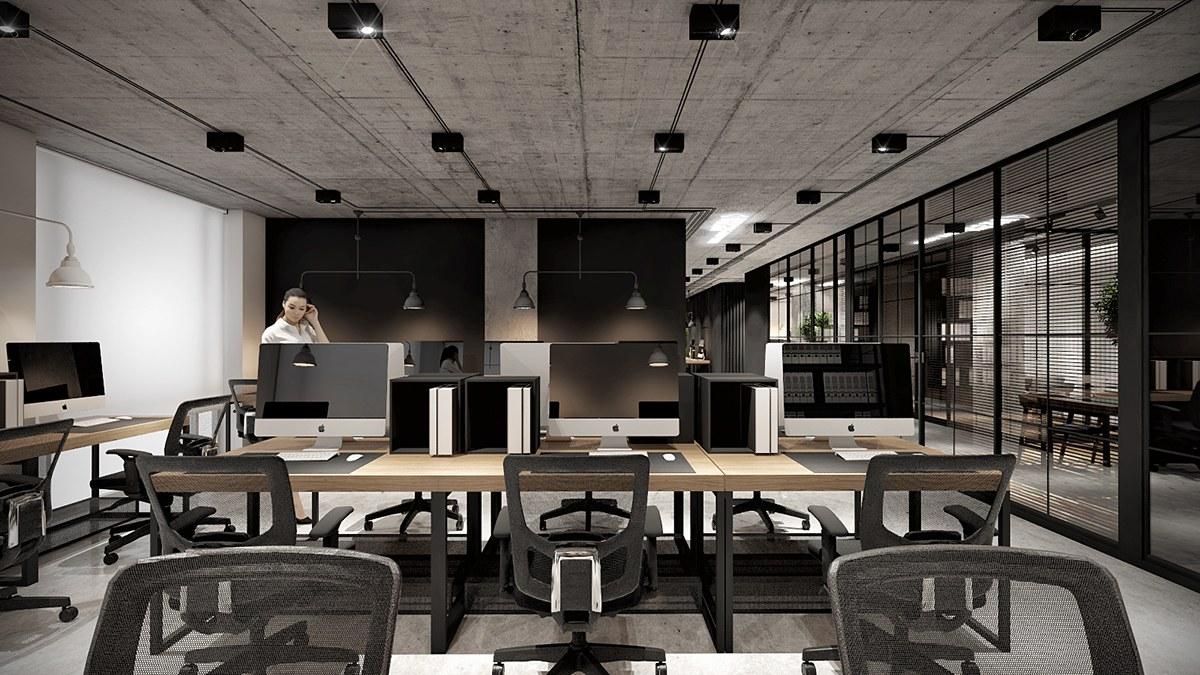 Thi Công nội thất văn phòng tại Hóc Môn