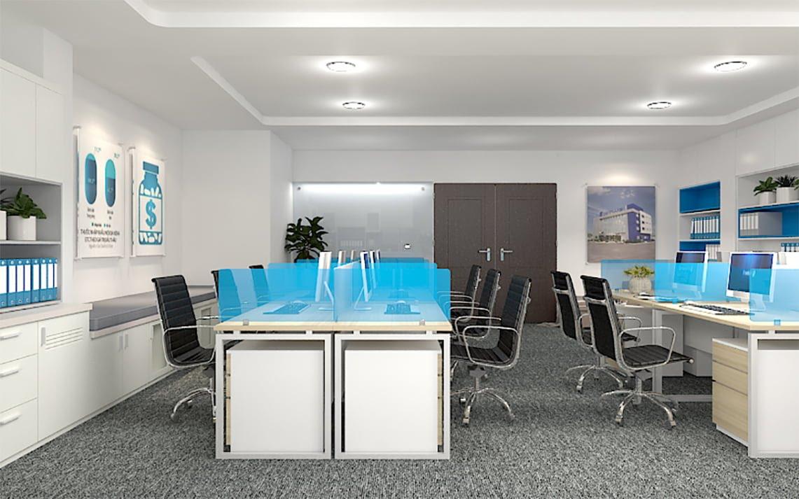 Thi Công nội thất văn phòng tại quận Bình Thạnh