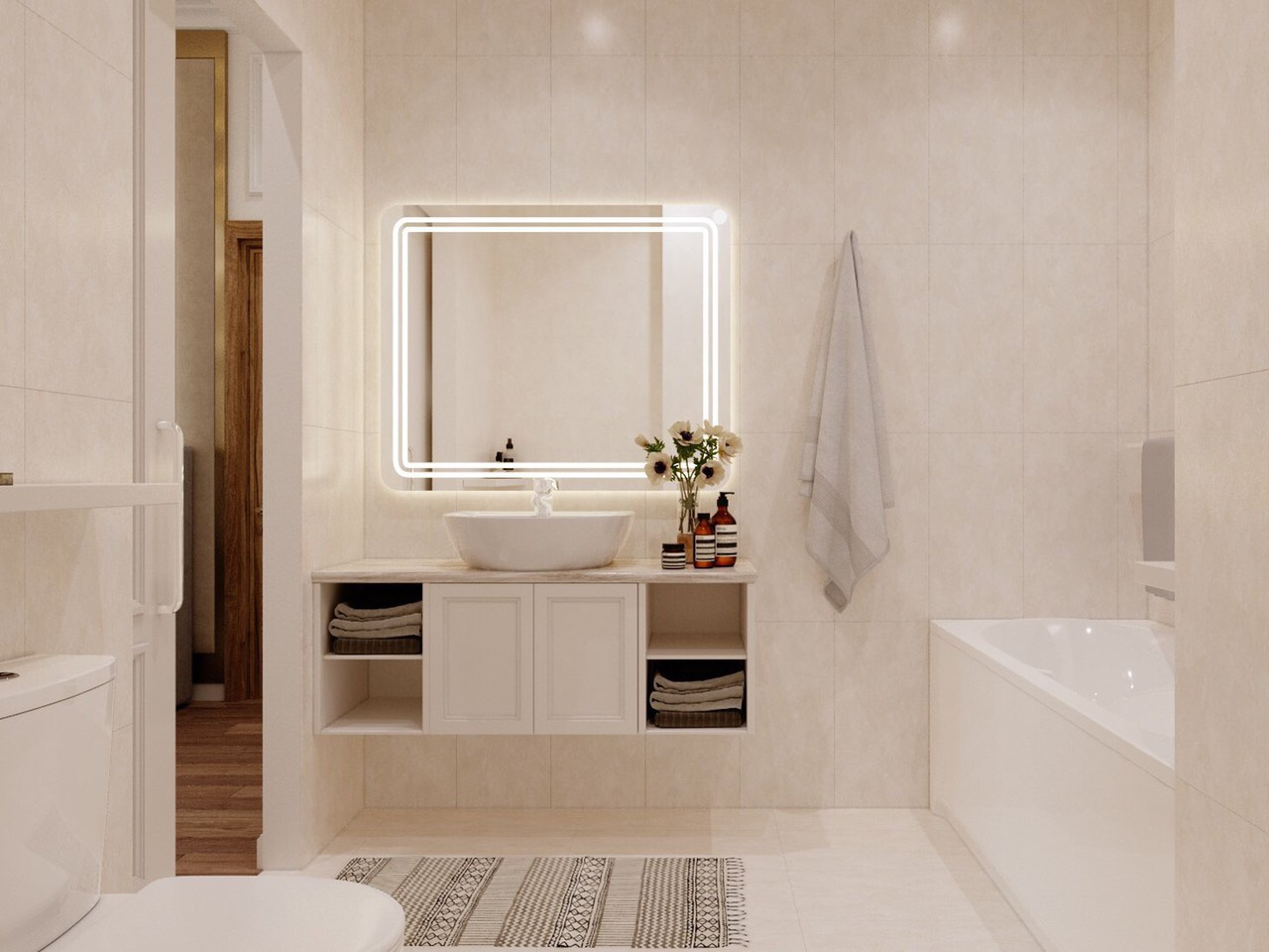 Thiết kế thi công nội thất chung cư Bình Tân